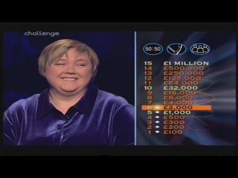 Celebrity WWTBAM UK - 18th December, 2004 (1/2)