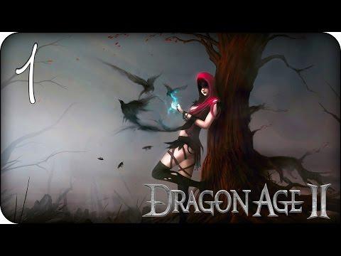 Девичье прохождение Dragon Age 2 ♦Прохождение за мага♦ #1