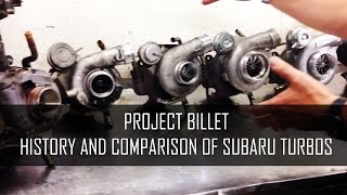 Project Billet - Subaru Turbo History / What we
