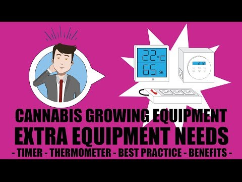 Weed Grow Operation Set Up - Extra Weed Growing Equipment
