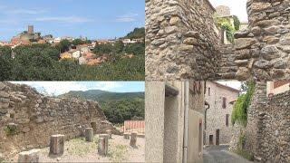 Laroque des Albères l'un plus beaux villages du Languedoc Roussillon VERSIÓN FRANCESA