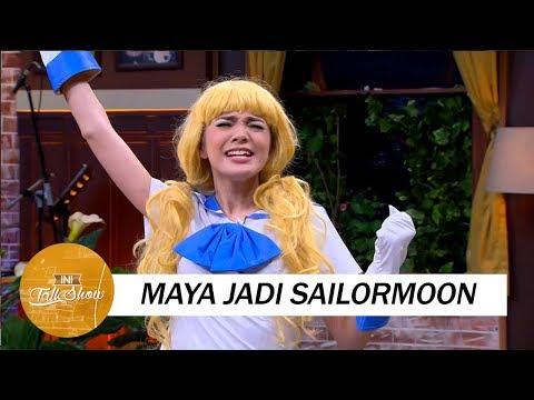 Reaksi Andre dan Sule Melihat Maya Cosplay Jadi Sailor Moon