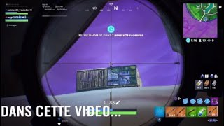 OMG/NEW GLITCH*/COMMENT TIRE A TRAVERS UN MUR sur FORTNITE Battle Royale SAISON 9