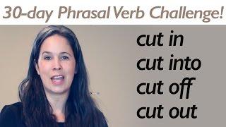 PHRASAL VERB CUT part 2