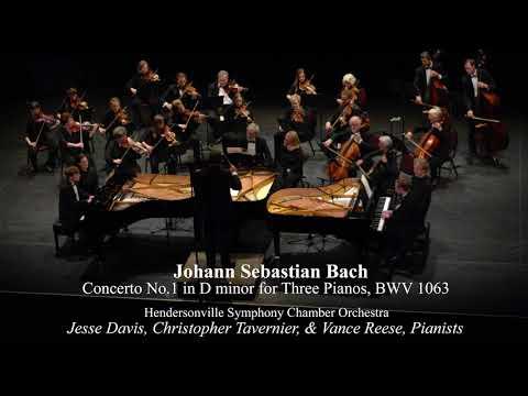 Johann Sebastian Bach - Concerto No.1 in D minor for Three Pianos, BWV 1063 mp3