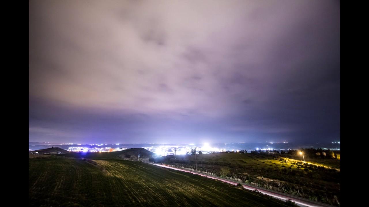 Nicosia, Cyprus  Time-lapse 31.1.2017