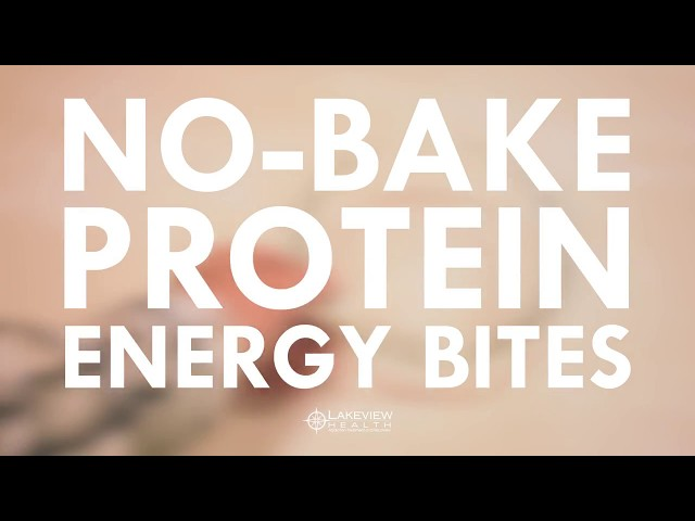 Recovery Fuel - No Bake Protein Energy Bites - High Protein Snack Recipe