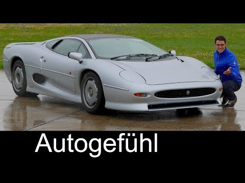 Experience the legendary Jaguar XJ220 supercar with Thomas! - Autogefühl