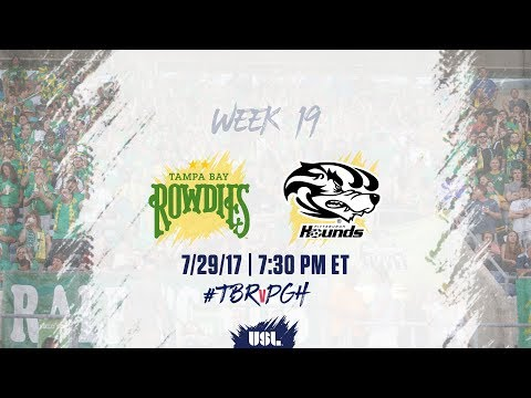 USL LIVE - Tampa Bay Rowdies vs Pittsburgh Riverhounds 7/29/17