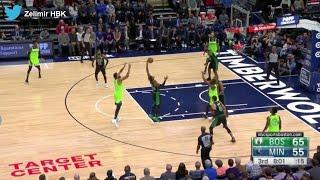 Boston Celtics'ten şiir gibi fast break