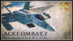 ACE COMBAT 7, but I have a Joystick and the F-22 Raptor (AC7 PC PLAYTHROUGH Mission 1-5)