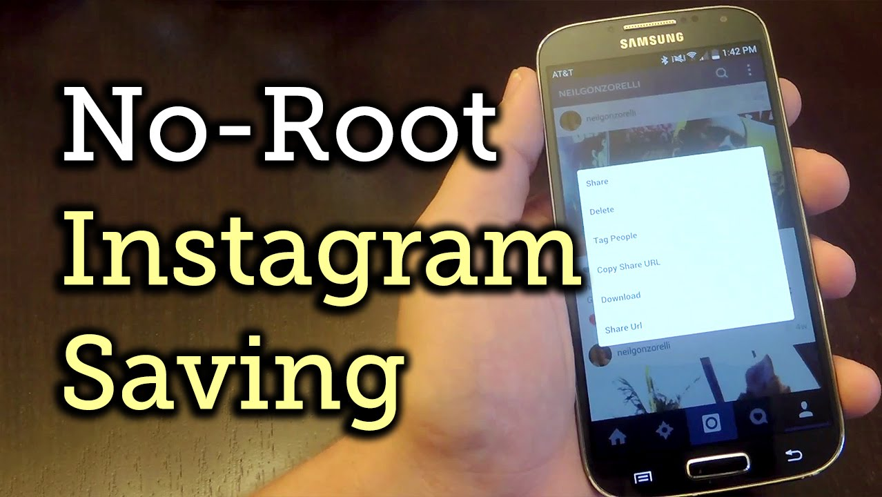 Save Instagram Pictures & Videos on Android—No Root Method [How-To]