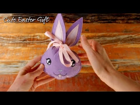 Easter Bunny Gift Bag Made In The Hoop