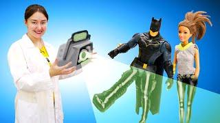 Веселая Школа Капуки Кануки— Бэтмен наприеме уДоктора Плюшевой! —Видео для самых маленьких