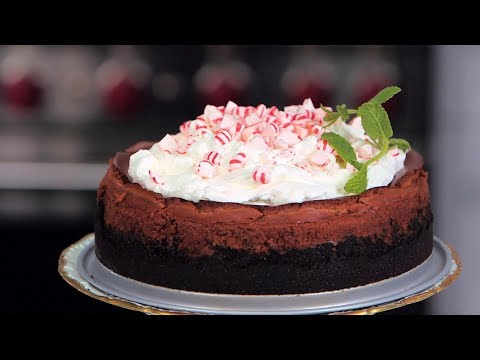Chocolate-Peppermint Cheesecake | Southern Living
