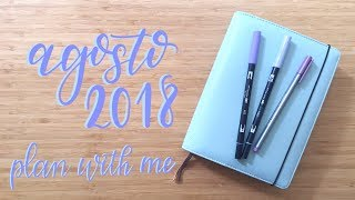 Plan With Me | August 2018