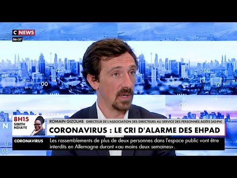 Coronavirus: le cri d'alarme des Ehpad