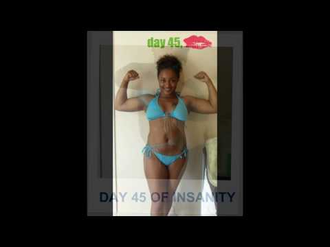 Insanity Results before and after - 60 Day Program
