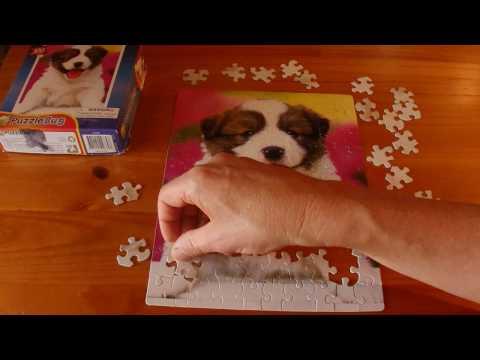 ASMR - Solving a Jigsaw Puzzle - Australian Accent - Describing Piece by Piece, in a Quiet Whisper