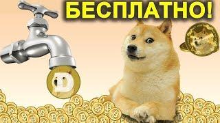 DogeCoin Бесплатно! На Сайте  FreeDoge! Заработать Бесплатно!