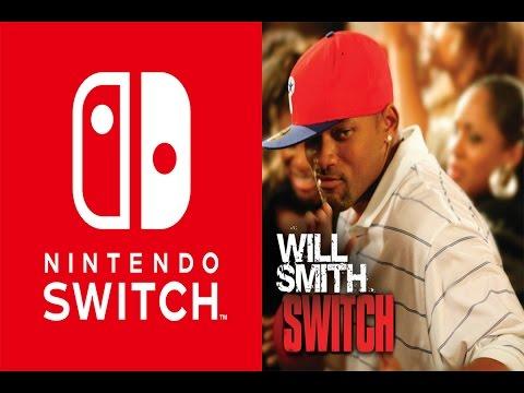 Nintendo Switch Will Smith Trailer