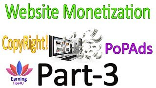 Monetize Your Website - PopAds With Proof In Hindi