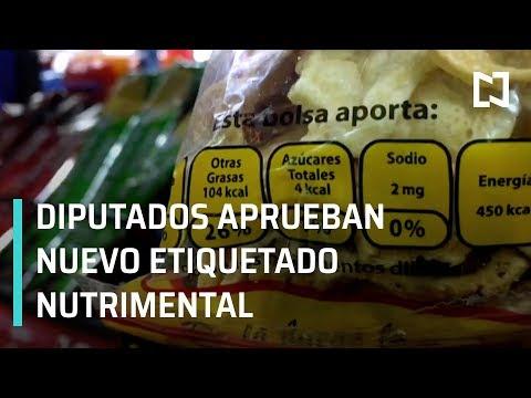 Diputados aprueban reformas a la Ley General de Salud para etiquetado nutrimental - En Punto