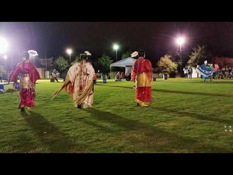 Team dance special (1st song) at Tulsa powwow 2018