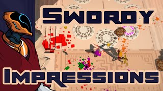 Stick Em With The Pointy End! - Swordy Gameplay & First Impressions