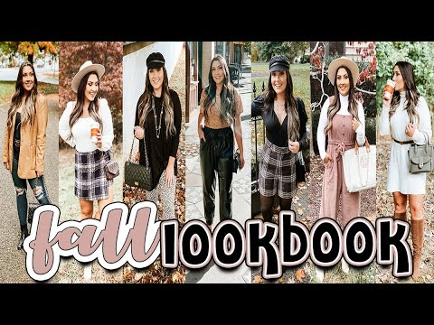 [VIDEO] - FALL LOOKBOOK 2019 | 10 FALL OUTFITS 1