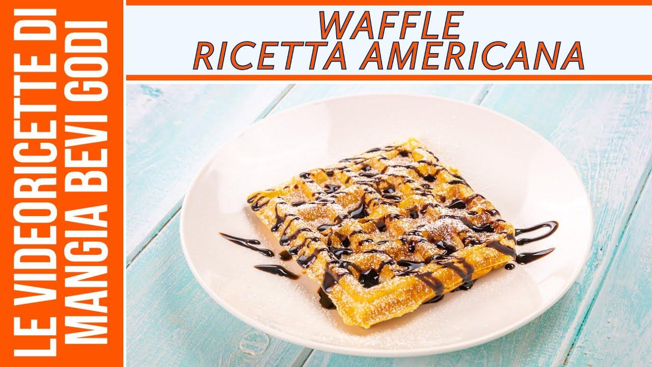 Waffle Ricetta Originale Americana.Waffle Ricetta Americana La Piu Semplice Youtube