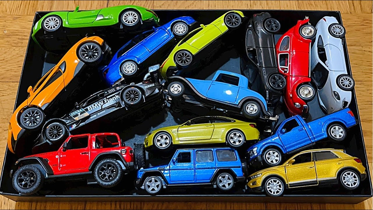 Various Model Cars From The Box - 4K Quality