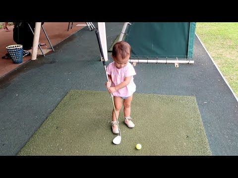 BABY TIGER WOODS IN THE MAKING (MAYBE)