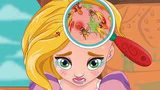 Princess Video Game - Rapunzel Hair Doctor - Enjoydressup.com