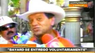 Declaraciones de Bayard, Prefecto y cívicos lo abandonan; Marcha campesina en Tarija - Dic. 2008