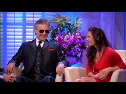 Alan Titchmarsh Interviews Andrea Bocelli and his wife & manager Veronica Berti  25th Jan 2013