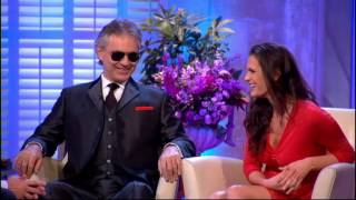Alan Titchmarsh Interviews Andrea Bocelli and his wife & manager Veronica Berti - 25th Jan 2013 - Stafaband