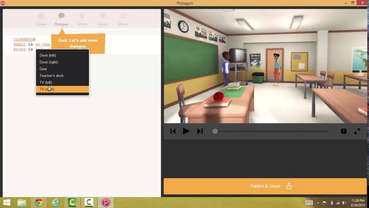 Plotagon Tutorial: Making animation for free