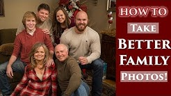 How To Take Better Family Photos For Thanksgiving & Christmas Without Buying New Gear
