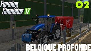 farming simulator 17/Belgique profonde/épisode 2 on nourrie les vache