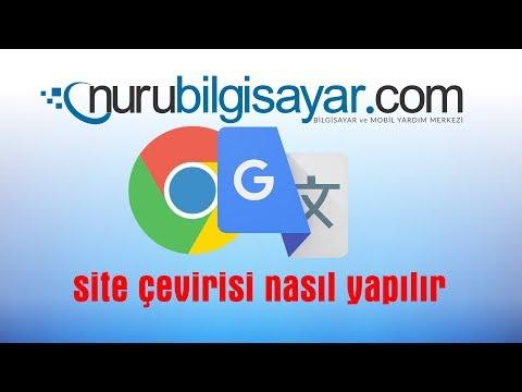 Yabanci Site Türkçeye Nasıl çevir