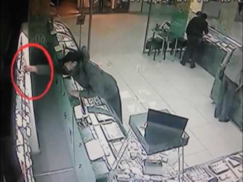 Крупная кража в ювелирном магазине Воронежа