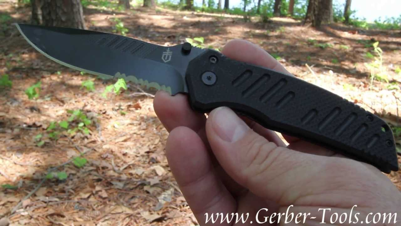 Gerber Swagger Knife 31-000594 30-000257 - video review - YouTube