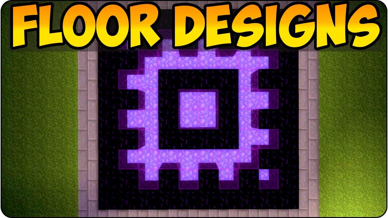 Minecraft ps3 xbox 360 unique floor showcase house for Minecraft floor designs