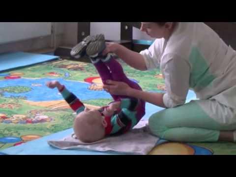 Массаж при ДЦП (детском церебральном параличе) - видео