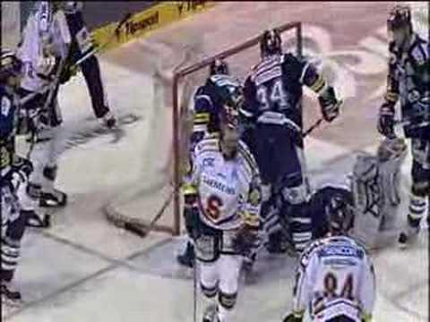 Miroslav Hlinka wasted a great chance