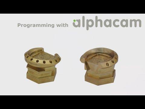 5-axis milling - Hermle C250 | Alphacam