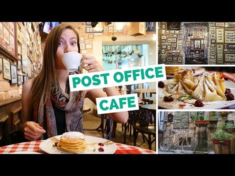 Breakfast in Ukraine food review in Lviv (Львів)