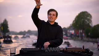 Martin Garrix Tribute to Avicii from a boat on Dutch waters!