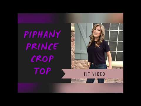 45eac9555c877 Piphany Prince Crop Top Fit Video! - YouTube